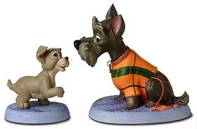 WDCC Disney Classics_Lady And The Tramp Scamp And Jock Persistent Pup & Patient Pal
