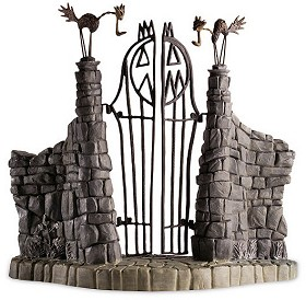 WDCC Disney Classics_The Nightmare Before Christmas Gate Jack Skeletons Gate