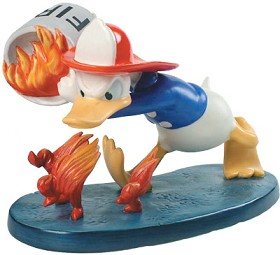 WDCC Disney Classics_Mickey's Fire Brigade Donald Duck Duck A Fire