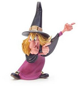WDCC Disney Classics_Trick Or Treat Witch Hazel Brewing Up Trouble