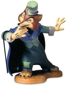 WDCC Disney Classics_Pinocchio J. Worthington Foul Fellow Felonious Fox