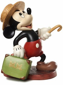 WDCC Disney Classics_Mr. Mouse Takes A Trip Mickey Mouse Travelers Tail