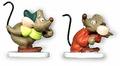 WDCC Disney Classics_Cinderella Gus And Jaq Miniatures One Mouse Or Two