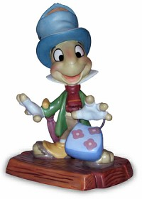 WDCC Disney Classics_Pinocchio Jiminy Cricket I Made Myself At Home