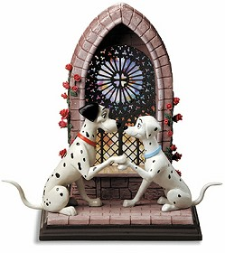 WDCC Disney Classics_One Hundred and One Dalmatians Pongo and Perdita Going To The Chapel