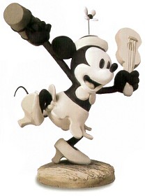 WDCC Disney Classics_Steamboat Willie Minnie Mouse Minnie's Debut (Charter Member Edition)