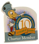 WDCC Disney Classics_Wdcc Plaque Ten Year Charter Member Plaque