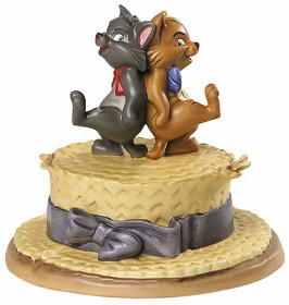 WDCC Disney Classics_The Aristocats Berlioz And Toulouse Kickin Kittens
