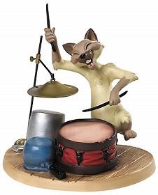 WDCC Disney Classics_The Aristocats Chinese Cat Crazy Cat