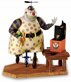 WDCC Disney Classics_The Nightmare Before Christmas Clown With Tear Away Face A Frightful Sight