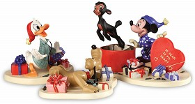 WDCC Disney Classics_Mickey,Donald,Pluto And Danny The Lamb A Heartfelt Surprise