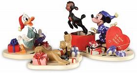 WDCC Disney Classics_Mickey,Donald,Pluto And Danny The Lamb A Heartfelt Surprise