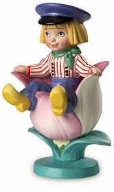WDCC Disney Classics_It's A Small World Holland Tulpenjongen Boy With Tulip