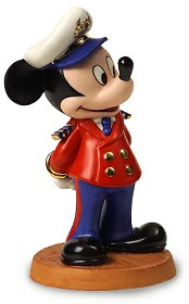 WDCC Disney Classics_Disney Cruise Lines Mickey Mouse Welcome Aboard