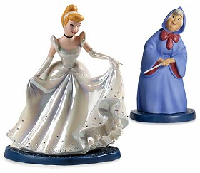 WDCC Disney Classics_Cinderella & Fairy Godmother A Magical Transformation