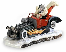 WDCC Disney Classics_One Hundred and One Dalmatians Cruella De Vil De Vil On Wheels