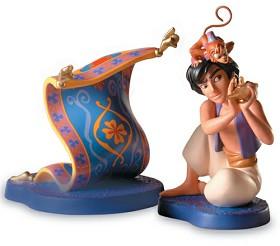 WDCC Disney Classics_Aladdin, Abu and Carpet