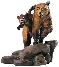 WDCC Disney Classics_Brother Bear Kenai And Koda Brotherly Time