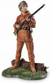 WDCC Disney Classics_Davy Crockett King Of The Wild Frontier Signed By Ken Melton