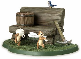 WDCC Disney Classics_Dwarf's Cottage Bench