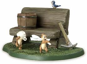 WDCC Disney Classics_Dwarf's Cottage Bench