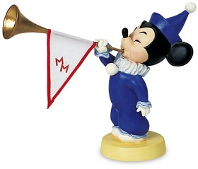 WDCC Disney Classics_Mickey Mouse Club Mickey's Nephews Sounds The Trumpets