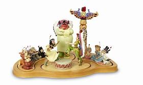 WDCC Disney Classics_Peter Pan Fireside Celebration