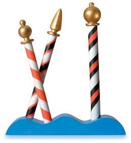 WDCC Disney Classics_It's A Small World Gondolier Poles