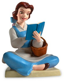 WDCC Disney Classics_Beauty And The Beast Belle Bookish Beauty