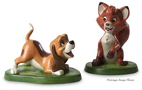 WDCC Disney Classics_The Fox And The Hound Copper And Todd The Best Of Friends