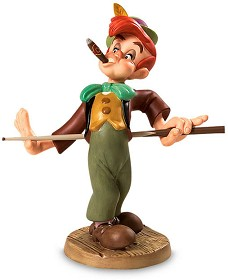 WDCC Disney Classics_Pinocchio Lampwick Screwball In The Corner Pocket
