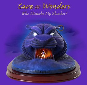 WDCC Disney Classics_Aladdin Cave Of Wonders Who Disturbs My Slumber