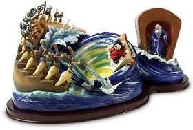 WDCC Disney Classics_Fantasia Sorcerer Mickey Yen Sid Brooms Magical Maelstrom