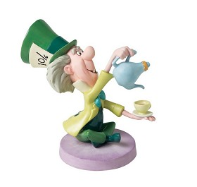 WDCC Disney Classics_Alice In Wonderland Mad Hatter Topsy Turvy Tea Tottler Wdcc In The Spotlight Quintessentially Disney