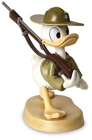 WDCC Disney Classics_Donald Duck Basic Training Donald Gets Drafted
