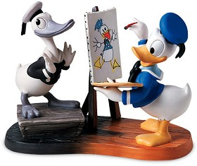 WDCC Disney Classics_Then And Now Donald Duck Then And Now