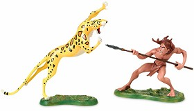 WDCC Disney Classics_Tarzan And Sabor Untamed