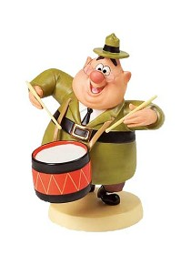 WDCC Disney Classics_Mickey Mouse Club J Audubon Woodlore Beat The Drums