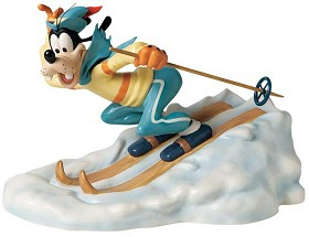 WDCC Disney Classics_Art Of SkIIng Goofy All Downhill From Here