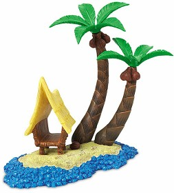 WDCC Disney Classics_Finding Nemo Base  Tank Tiki Hut Accessory