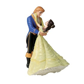 WDCC Disney Classics_Beauty And The Beast  Belle And Prince The Spell Is Lifted