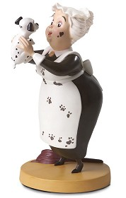 WDCC Disney Classics_One Hundred and One Dalmatians Nanny Cook Look Heres Lucky