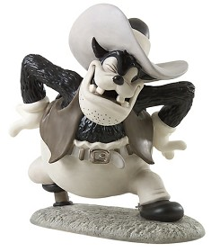 WDCC Disney Classics_Two Gun Mickey Peg Leg Pete Ornery Outlaw