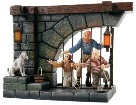WDCC Disney Classics_Pirates Of The Caribbean Jail Scene Here Give Us The Keys Ya Scrawny Little Beast