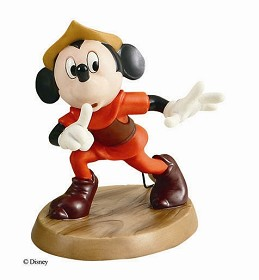 WDCC Disney Classics_Mickey And The Beanstalk Mickey Mouse Shhh