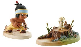 WDCC Disney Classics_Little Hiawatha And Bunny Mighty Hunter