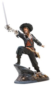 WDCC Disney Classics_Pirates Of The Caribbean Captain Barbosa Black-Hearted Brigand