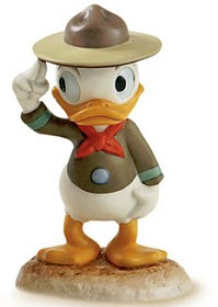 WDCC Disney Classics_Good Scouts Nephew Duck A Real Trooper