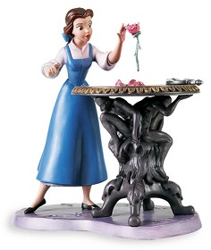 WDCC Disney Classics_Beauty And The Beast Belle Forbidden Discovery