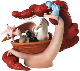 WDCC Disney Classics_Fantasia Pegasus Family Mythic Menagerie